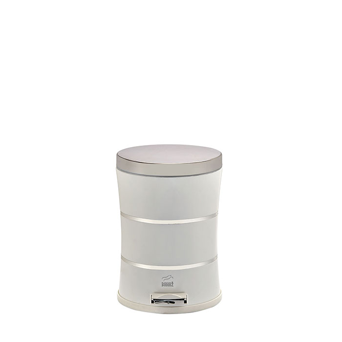 Slim Pedal Bin Silent, 14 Liter, with double Lines