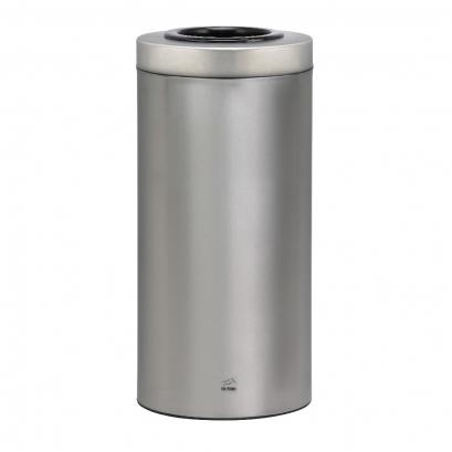 سطل زباله 45 لیتری استوانه ای 45 steel(2)