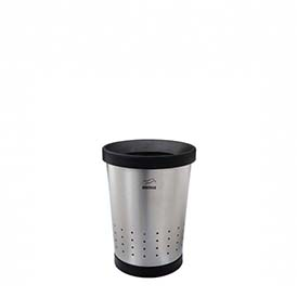 Conical Waste Paper Bin with holes