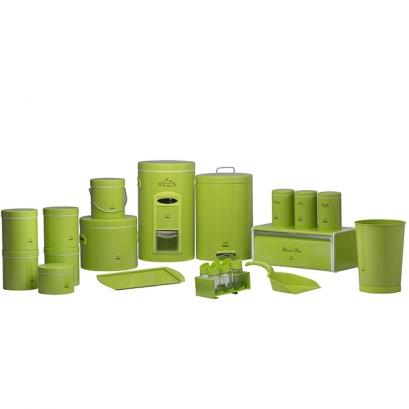 سرویس جهیزیه 23 پارچه سبز فسفری در فلزی