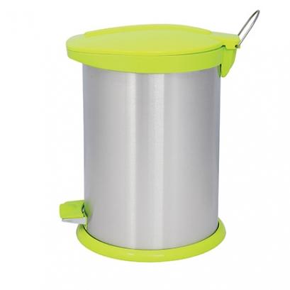 Steel-Green Pedal Bin BZ71 - 14 Liters