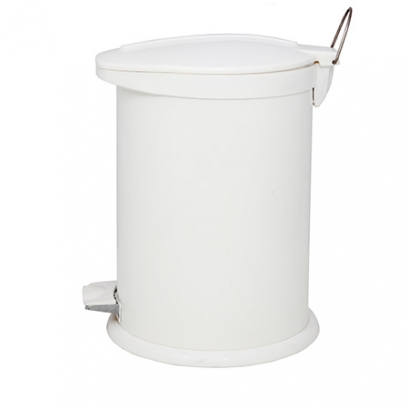 سطل 14 لیتری پدالدار BZ71 سفید