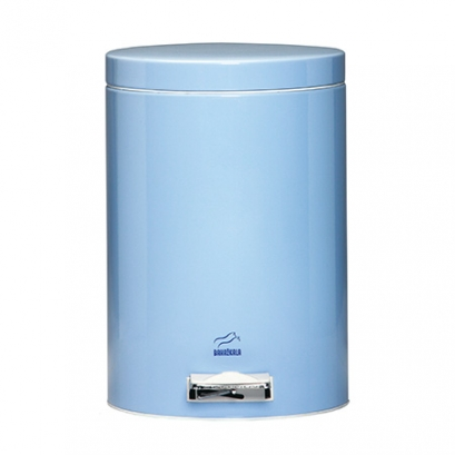 Blue Pedal Bin - 14 Liters (Metal door)