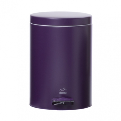 Violet Pedal Bin - 6 Liters (Metal door)