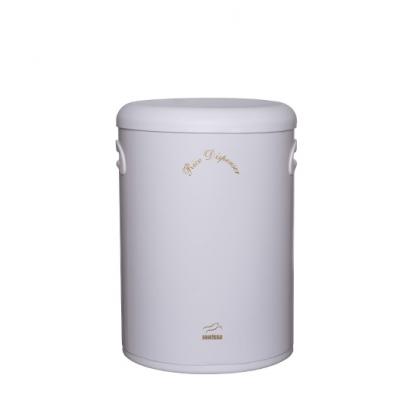 سطل برنج بدون پیمانه سفید در پلیمری