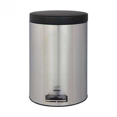 سطل 14 لیتری پدالدار استیل در مشکی