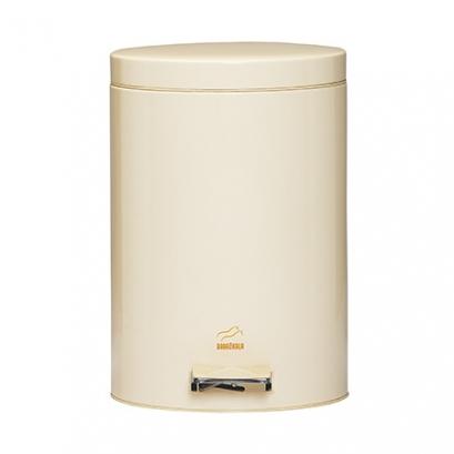 Cream Pedal Bin - 14 Liters