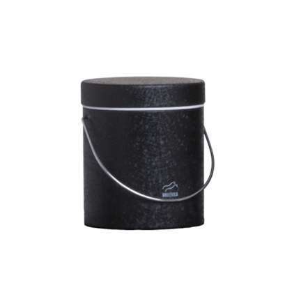 سطل روغن مشکی چروک