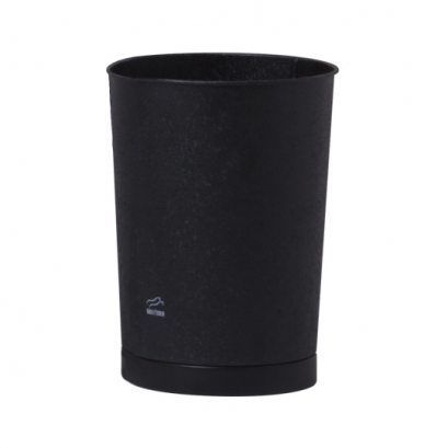 137 سطل زباله مخروطی مشکی چروک