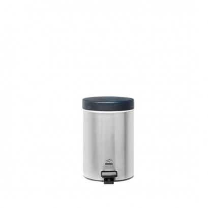 سطل پدالدار 3 لیتری استیل مشکی