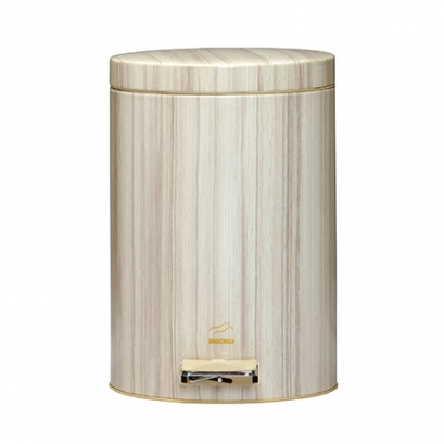 Beech Pedal Bin - 14 Liters (Metal door)