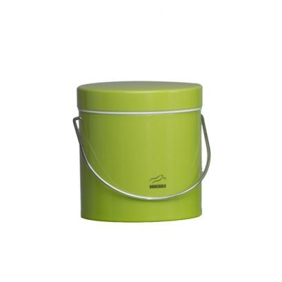 سطل روغن سبز فلزی