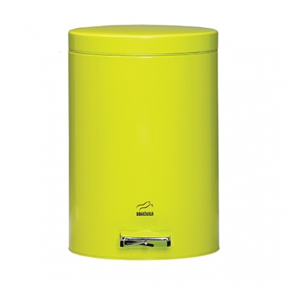 Green Pedal Bin - 14 Liters (Metal door)