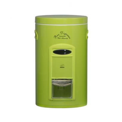 سطل برنج پیمانه دار سبز فلزی