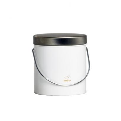 سطل روغن سفید در استیل