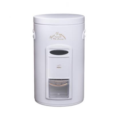 سطل برنج پیمانه دار سفید در فلزی