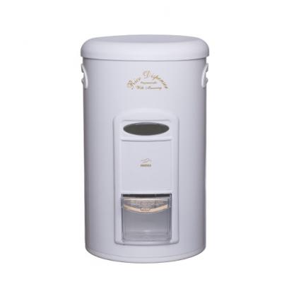 سطل برنج پیمانه دار سفید در پلیمری