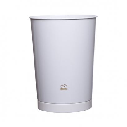 163 White Conical Waste Bin