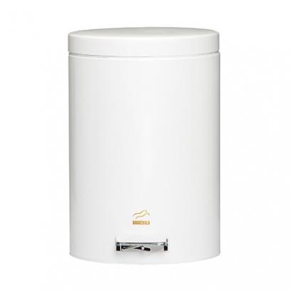 سطل زباله پدالدار 14 لیتری Silent سفید