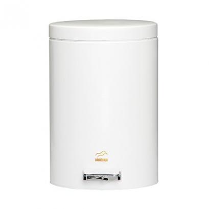 سطل زباله پدالدار 14 لیتری سطل 14 لیتری پدالدار سفید براق