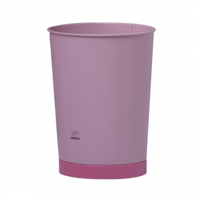 163 Pink Conical Waste Bin