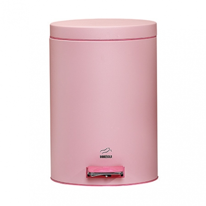Pink Pedal Bin - 6 Liters (Metal door)