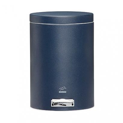 سطل پدالدار  6 لیتری سرمه ای سمباده ای