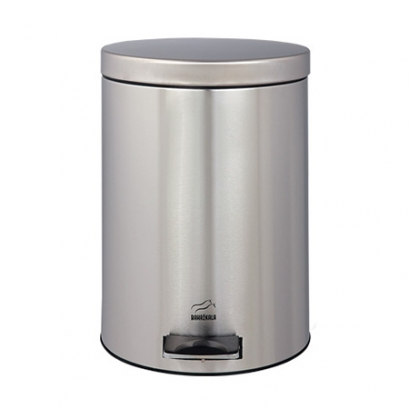 Steel Pedal Bin - 6 Liters (Steel door)