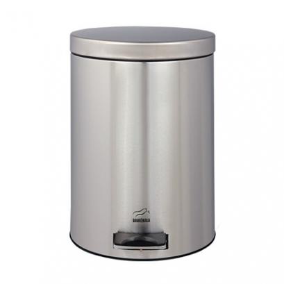 سطل زباله پدالدار 14 لیتری Silent استیل