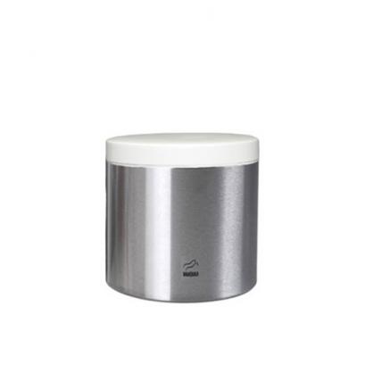 سطل شکر استیل سفید در فلزی