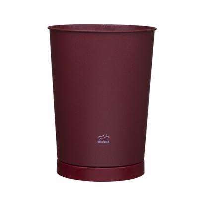 163 Purple Conical Waste Bin