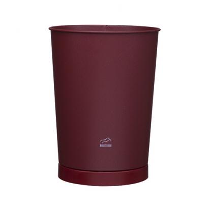 سطل زباله مخروطی زرشکی