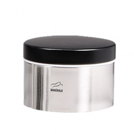 Steel-Black Chocolate Can - Metal Lid