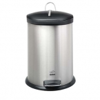 سطل 14 لیتری پدالدار BZ71 استیل مشکی