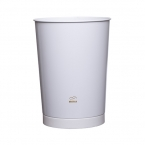 White Conical Waste Bin