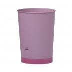 Pink Conical Waste Bin